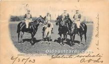 spo019076 - Old Vintage Polo Postcard Post Card