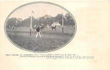 spo019078 - Old Vintage Polo Postcard Post Card