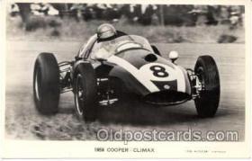 spo020022 - 1959 Cooper Climax postcard postcards