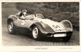 spo020034 - Lister Jaguar postcard postcards