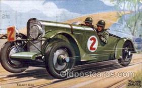 spo020060 - Talbot Car Artist Roland Davies