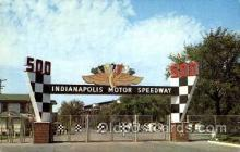 spo020104 - Indianapolis, Ind, Speedway postcard postcards