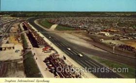 spo020105 - Daytona Speedway postcard postcards