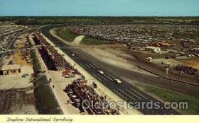 spo020172 - Daytona Beach, Florida USA Auto, Automotive, Car Racing Postcard Postcards