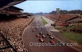 spo020175 - Indianapolis Motor Speedway, Indiana, USA Auto, Automotive, Car Racing Postcard Postcards
