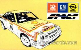 spo020177 - Auto, Automotive, Car Racing Postcard Postcards