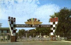 spo020181 - Indianapolis Mptor Speedway, Indianna, USA Auto, Automotive, Car Racing Postcard Postcards
