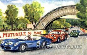 spo020185 - Auto, Automotive, Car Racing Postcard Postcards