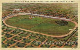 spo020186 - Indianapolis Mptor Speedway, Indianna, USA Auto, Automotive, Car Racing Postcard Postcards