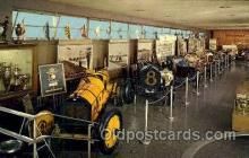 spo020189 - Indiannapolis Motor Speed way Museum Auto, Automotive, Car Racing Postcard Postcards
