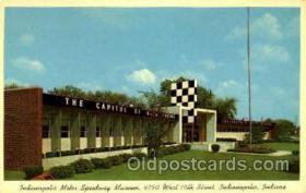 spo020194 - Indianapolis Motro Museum, Indianna, USA Auto, Automotive, Car Racing Postcard Postcards