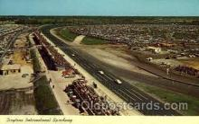 spo020195 - Daytona Beach, Florida USA Auto, Automotive, Car Racing Postcard Postcards