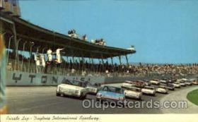 spo020199 - Daytona Beach, Florida USA Auto, Automotive, Car Racing Postcard Postcards