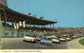 spo020200 - Daytona Beach, Florida USA Auto, Automotive, Car Racing Postcard Postcards