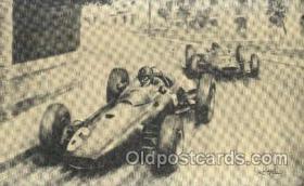 spo020203 - 1963 Monaco Grand Prix Auto, Automotive, Car Racing Postcard Postcards