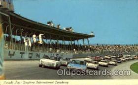 spo020207 - Daytona Beach, Florida USA Auto, Automotive, Car Racing Postcard Postcards