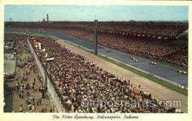 spo020213 - Indianapolis Motor Speedway, Indiana, USA Auto, Automotive, Car Racing Postcard Postcards
