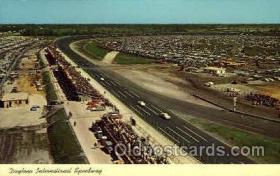 spo020215 - Daytona Beach, Florida USA Auto, Automotive, Car Racing Postcard Postcards