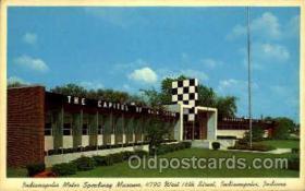 spo020220 - Indiana Motor Speedway Museum, Indiana, USA Auto, Automotive, Car Racing Postcard Postcards