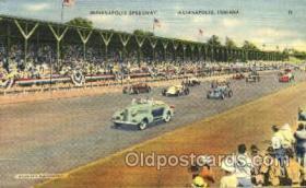 spo020222 - Indiana Motor Speedway , Indiana, USA Auto, Automotive, Car Racing Postcard Postcards