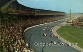 spo020223 - Indiana Motor Speedway , Indiana, USA Auto, Automotive, Car Racing Postcard Postcards
