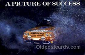 spo020225 - Russell Brookes/ Mike Broad, Opel Manta 400 Auto, Automotive, Car Racing Postcard Postcards