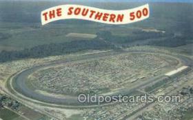 spo020228 - Darlington, SC USA Car, Auto Racing Old Vintage Antique Postcard Post Cards