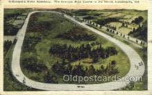 spo020230 - Indianapolis, IN USA Car, Auto Racing Old Vintage Antique Postcard Post Cards