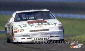 spo020606 - Ken Schrader Car, Auto Racing Old Vintage Antique Postcard Post Cards