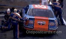 spo020616 - Richard Petty Car, Auto Racing Old Vintage Antique Postcard Post Cards