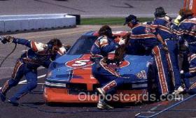 spo020617 - Richard Petty Car, Auto Racing Old Vintage Antique Postcard Post Cards