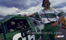 spo020620 - Brett Bodine Car, Auto Racing Old Vintage Antique Postcard Post Cards