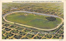 spo020639 - Old Vintage Auto Racing Postcard Post Card