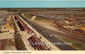 spo020643 - Old Vintage Auto Racing Postcard Post Card
