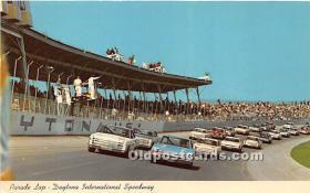 spo020644 - Old Vintage Auto Racing Postcard Post Card