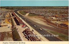 spo020645 - Old Vintage Auto Racing Postcard Post Card