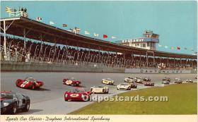 spo020647 - Old Vintage Auto Racing Postcard Post Card