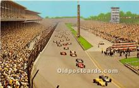 spo020648 - Old Vintage Auto Racing Postcard Post Card
