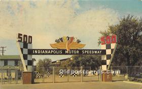 spo020649 - Old Vintage Auto Racing Postcard Post Card