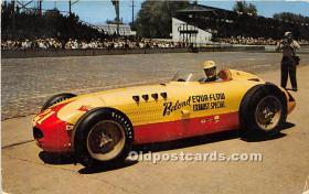 spo020651 - Old Vintage Auto Racing Postcard Post Card