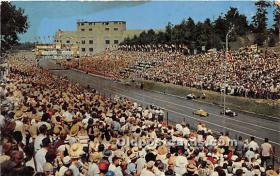 spo020654 - Old Vintage Auto Racing Postcard Post Card