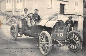 spo020655 - Old Vintage Auto Racing Postcard Post Card