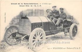spo020658 - Old Vintage Auto Racing Postcard Post Card