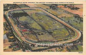 spo020659 - Old Vintage Auto Racing Postcard Post Card