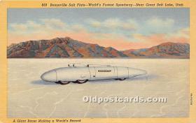 spo020661 - Old Vintage Auto Racing Postcard Post Card