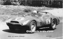 spo020694 - Old Vintage Auto Racing Postcard Post Card