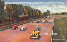 spo020696 - Old Vintage Auto Racing Postcard Post Card