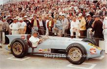spo020697 - Old Vintage Auto Racing Postcard Post Card