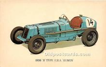 spo020698 - Old Vintage Auto Racing Postcard Post Card