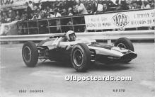 spo020699 - Old Vintage Auto Racing Postcard Post Card